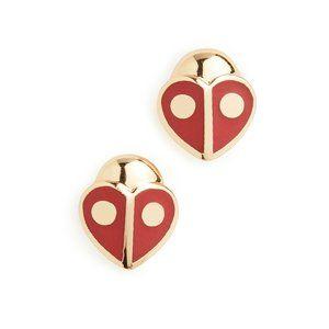 Kate Spade Animal Party Ladybug Stud Earrings